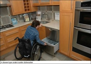 Accessible Dishwasher