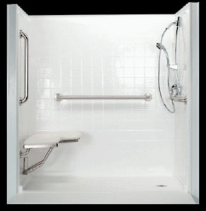 Accessible Wheelchair Shower
